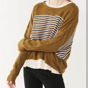 Urban Outfitters Cropped Dolman Pullover